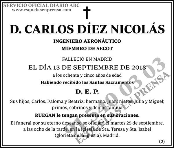 Carlos Díez Nicolás